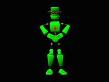 Green robot Royalty Free Stock Image