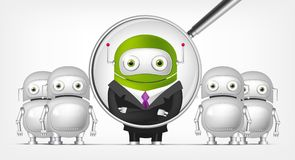 Green Robot Royalty Free Stock Photo