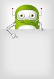 Green Robot Stock Photography