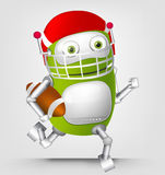 Green robot character Stock Images