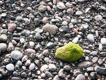 Green rock Stock Photo