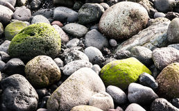 Green rock Royalty Free Stock Photography