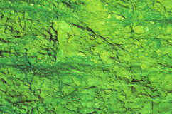 Green Rock Texture Background Stock Photography