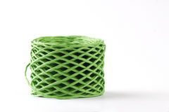 Green roll cord Royalty Free Stock Photos