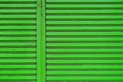 Roller shutter door Royalty Free Stock Photo