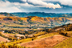 Green rolling hills Royalty Free Stock Photos