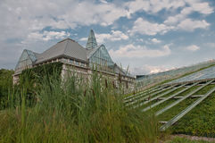 Green roof garden on top of BUW Royalty Free Stock Photography