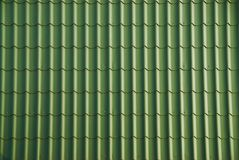 Green roof tile Royalty Free Stock Photos