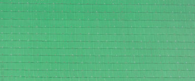 Green roof tile. Texture background Stock Photo