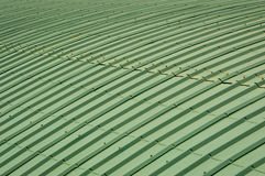 Green Roof Top Pattern Royalty Free Stock Image