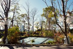 The green rooftop at Tokyu Plaza Omotesando, Tokyo, Japan Stock Photography