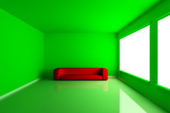 Green Room Royalty Free Stock Image