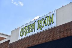 "Green Room Musicians Lounge Beale Street, Memphis, TN. Based Tin Roof is spending several hundred thousand dollars to add a ""hangout stock image"