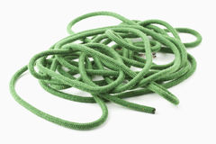 Green rope Royalty Free Stock Image