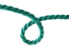 Green rope Royalty Free Stock Images