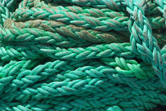 Green rope Royalty Free Stock Photos