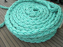 Green rope Royalty Free Stock Photo