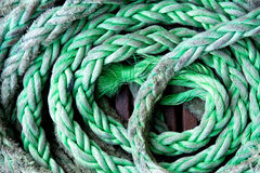 Green rope background Stock Photos