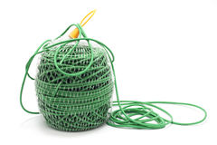 Green rope Royalty Free Stock Photography
