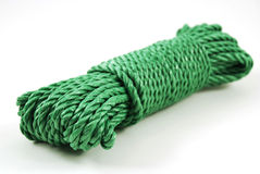 Green rope Stock Image