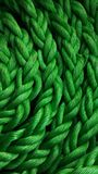 Green Ropes Royalty Free Stock Photos