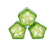 Green roselle Stock Photo