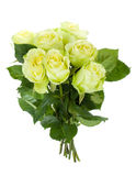Green roses bouquet Royalty Free Stock Images