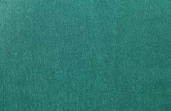 Green Rough Fabric Texture Royalty Free Stock Image