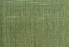 Green rough Fabric Texture. Pattern, Background Stock Photo
