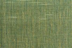 Green rough Fabric Texture Stock Photo