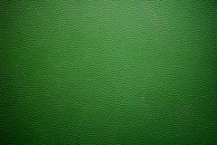 Green rough leathery surface. For textural background Stock Images
