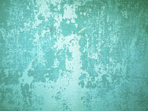 Green Rough Old Wall Royalty Free Stock Photos