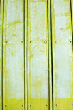 Green rough painted metal wall Stock Images