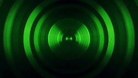Green Round Circular Waves Tunnel VJ Loop Motion Background V2. Glowing Colofrul Green Round Circular Waves Tunnel VJ Loop Motion Background V2 Backdrop stock video footage