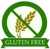 Gluten free icon stock illustration