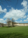 Green and the royal crescent Royalty Free Stock Photo