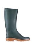 Green rubber boot Royalty Free Stock Photos