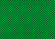 Green rubber mesh. On black background Royalty Free Stock Image