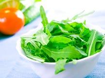 Green rucola fresh salad Stock Photography