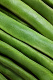 Green runner beans background Royalty Free Stock Photos