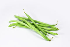 Green runner beans Stock Photography