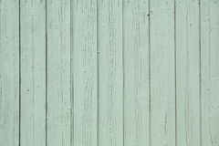Green rustic wooden wall background Royalty Free Stock Images