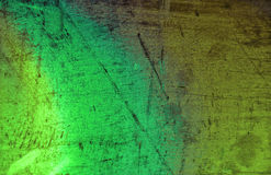 Green rusty tin background Royalty Free Stock Photo