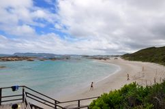 Green's Pool Landscape: Great Southern Ocean, Western Australia royalty free stock photos