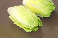 Green salad hearts Royalty Free Stock Photography