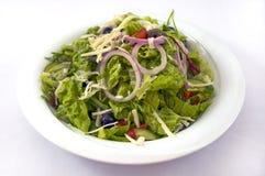 Green Salad. Refreshing green salad. Simple and useful Royalty Free Stock Image