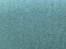 Green sand paper Stock Image