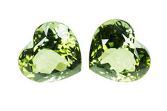 Green sapphire Stock Photos