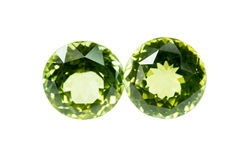 Green sapphire Royalty Free Stock Photos