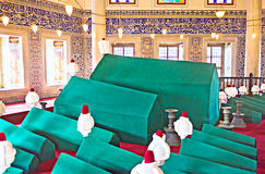 The green sarcophagi Royalty Free Stock Photography